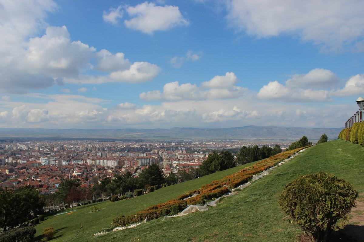 Şelalepark'tan Muhteşem Eskişehir Manzarası