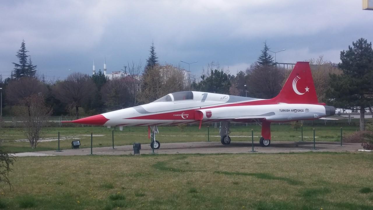 Havacılık Parkı'ndaki Bombardıman Keşif Uçağı