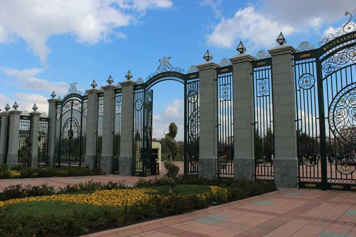 Kentpark'ın giriş kapısı