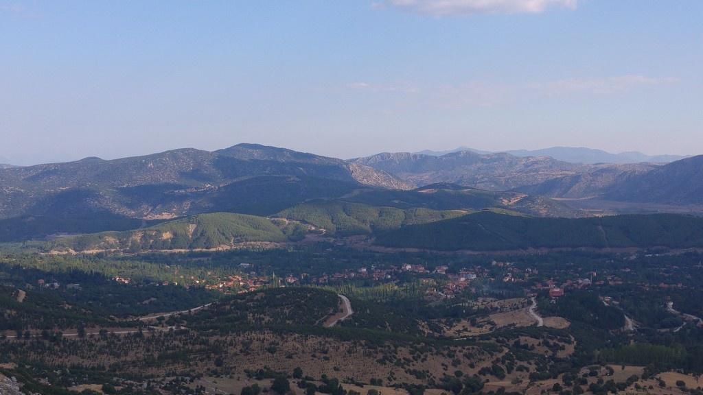 Sagalassos'tan Burdur manzarası