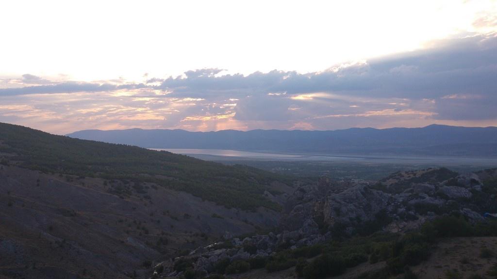 Burdur'da Gün Batımı