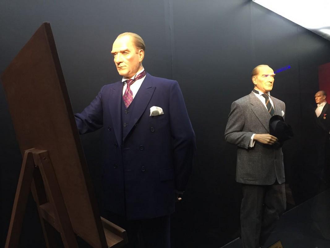 Balmumu Heykeller Müzesi: Mustafa Kemal ATATÜRK