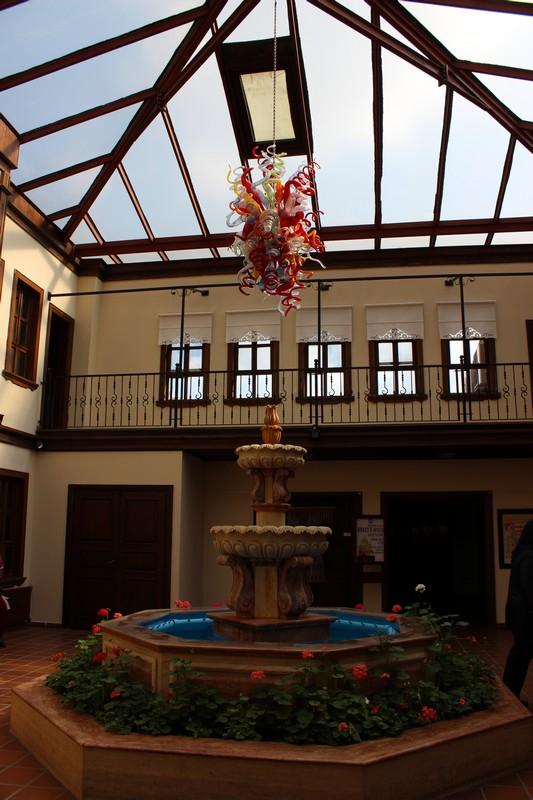 Çağdaş Cam Sanatları Müzesi'nin holü