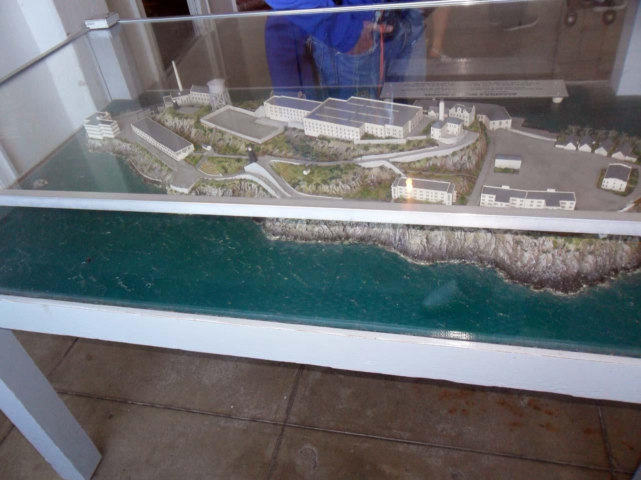 Alcatraz Adası maket