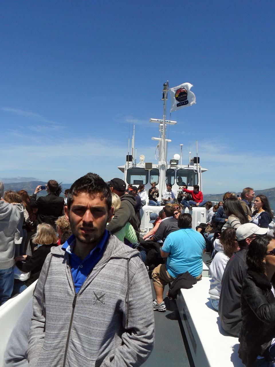 Mülteci gemisiyle Alcatraz Adası'na yolculuk 🙂
