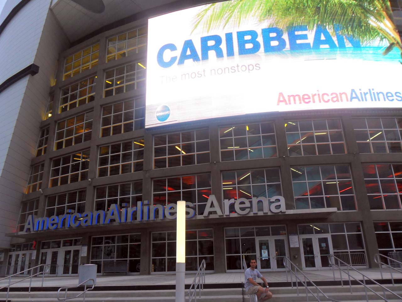 "Miami Heat'in sahası ""AmericanAirlines Arena"""
