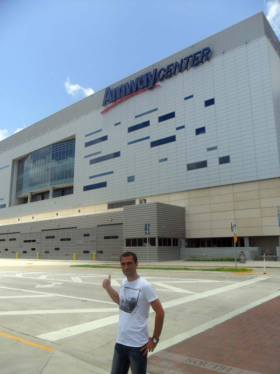 Son durağımız ise Orlando Magic'in sahası Amway Center