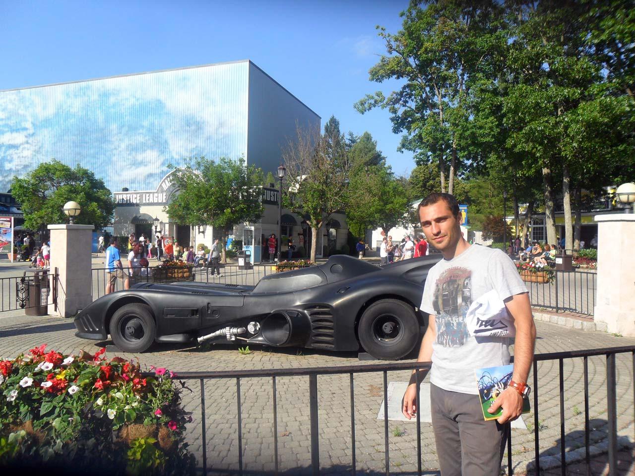 Batman arabası