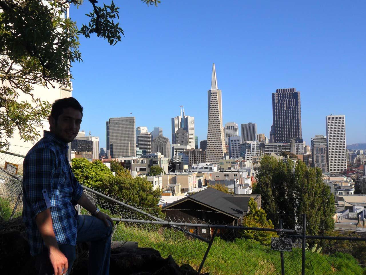 Coit Tower'dan SF manzarası