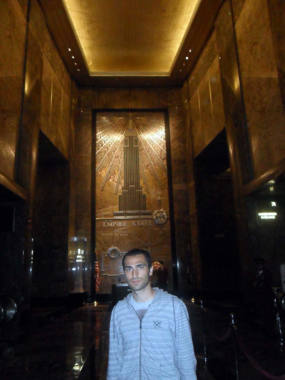 Empire State Binası'nın içi