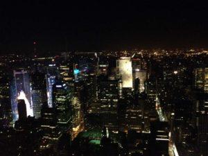 Empire State Binası'ndan bir görüntü