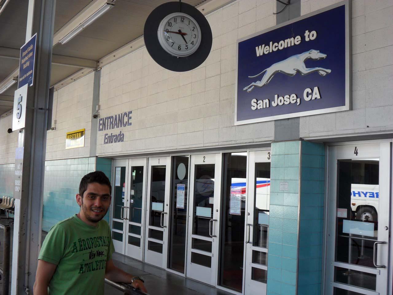 Yolculuğumuz sırasında ilk mola yerimiz San Jose