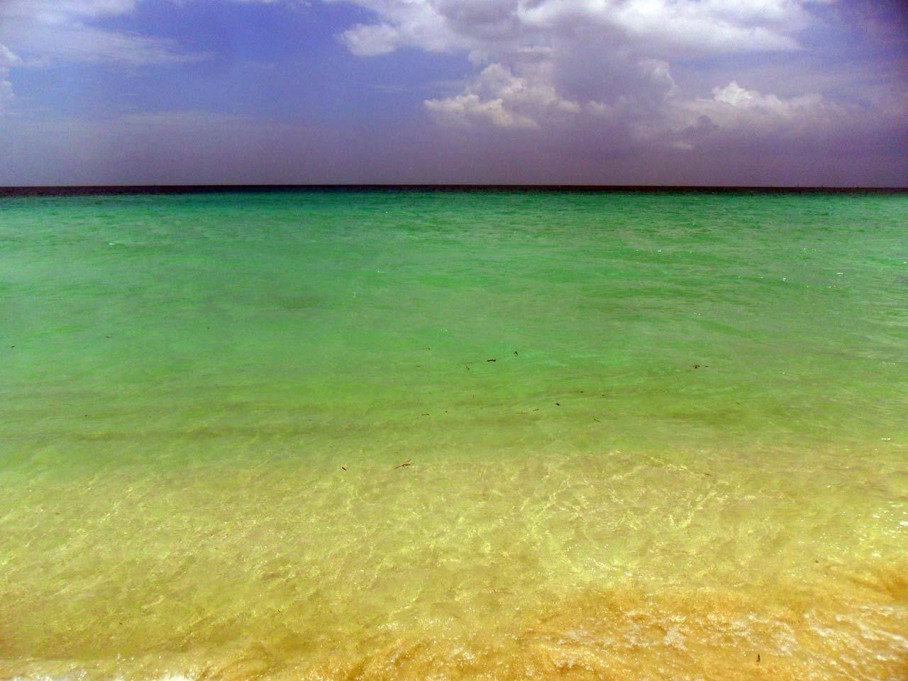 Yok böyle bir sahil…