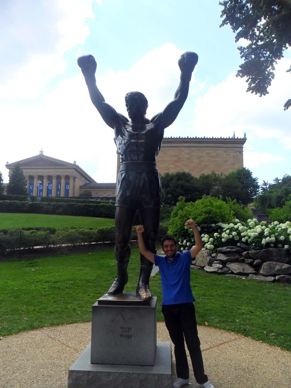 Rocky ile buluşmamız