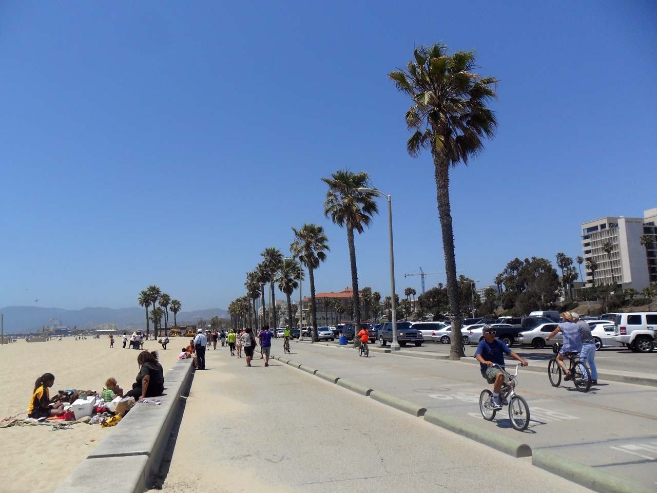 Santa Monica Plajı
