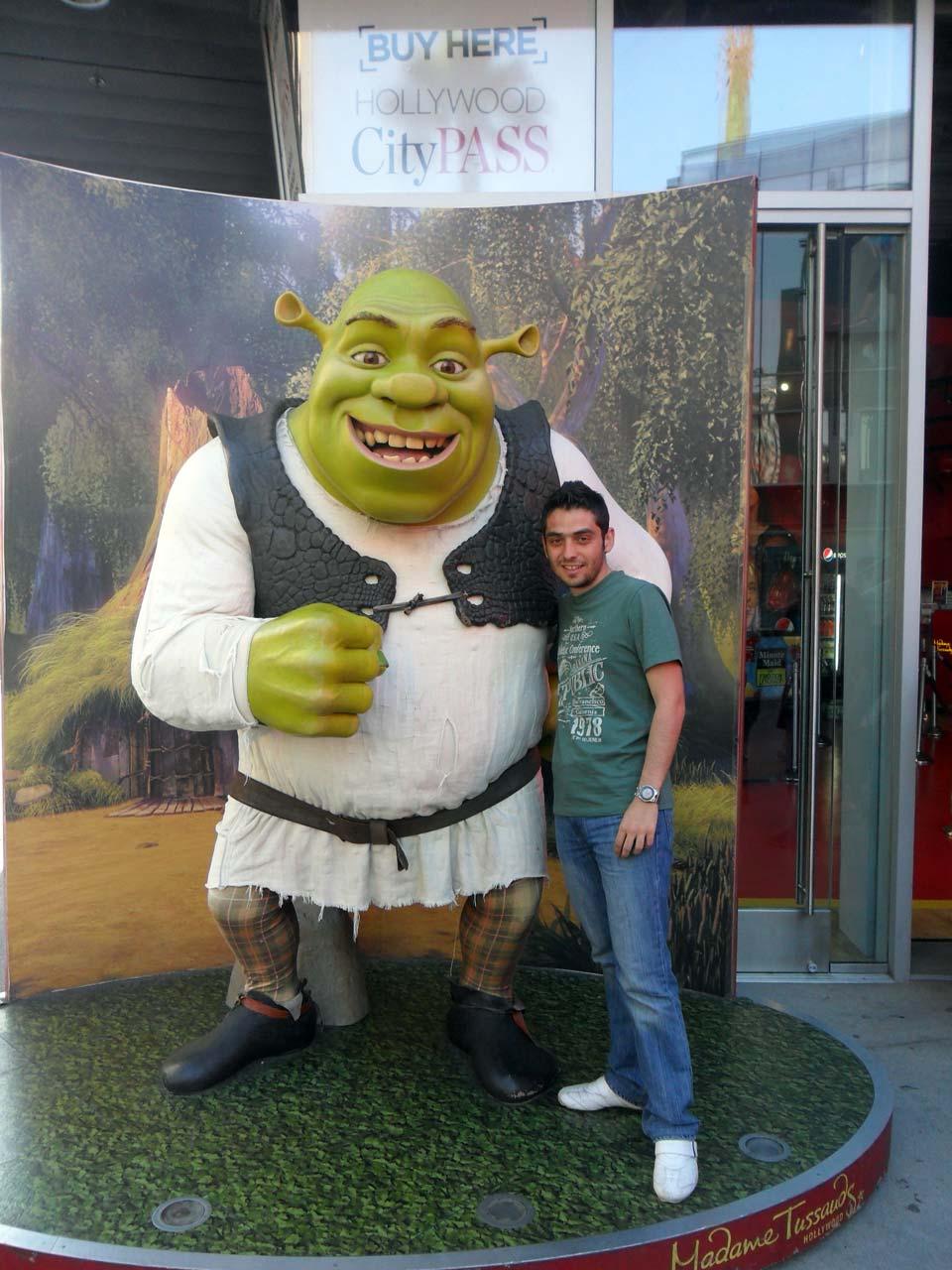 Olsun Shrekle fotoğrafım yeter 