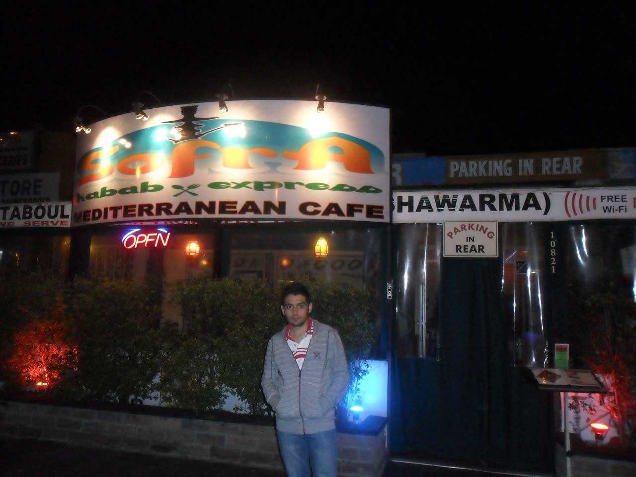 Tabii ki bulduk Sofra Kabab 🙂