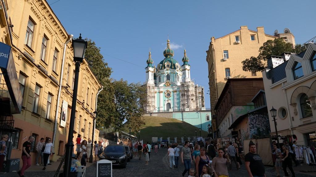 Andrevski Yokuşu - St. Andrew's Kilisesi