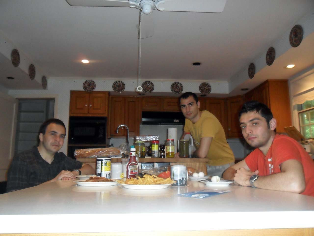 Türk evi – Ortak ve geniş bir mutfağa sahip