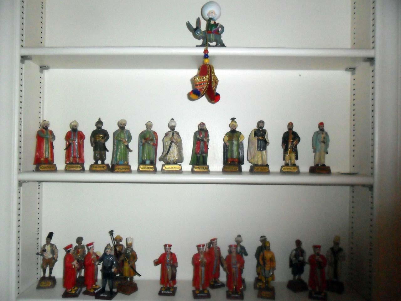 Türk evi – Osmanlı padişahları ve Nasreddin Hoca