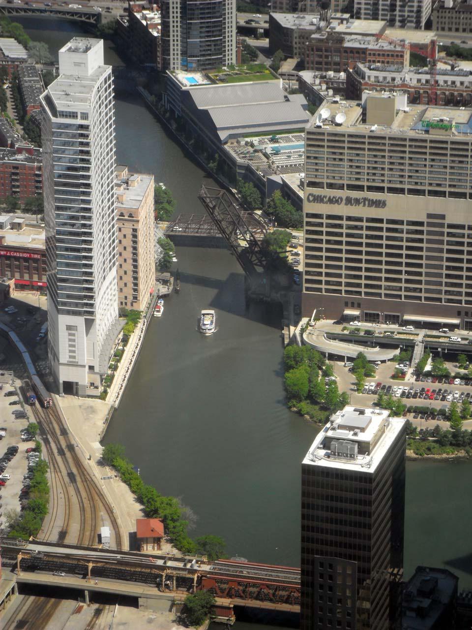 Willis Tower'dan Bir Görüntü