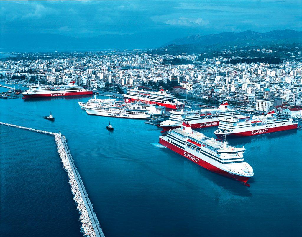 Patras Feribot Limanı