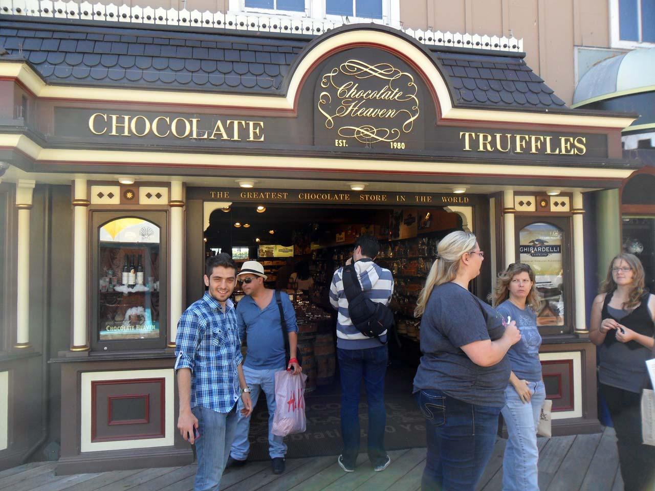Dediklerine göre dünyanın en iyi çikolatacısıymış