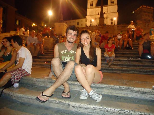 İspanyol Merdivenleri ve Biz
