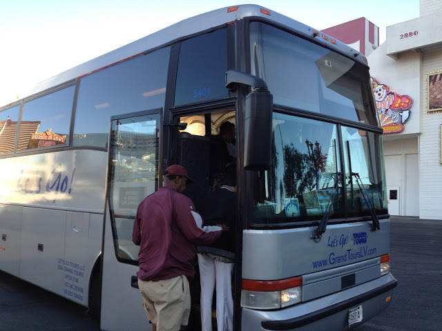 Grand Canyon tur otobüsü