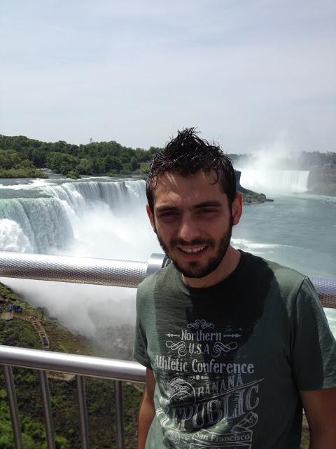 Niagara şelale gezisi sonrası