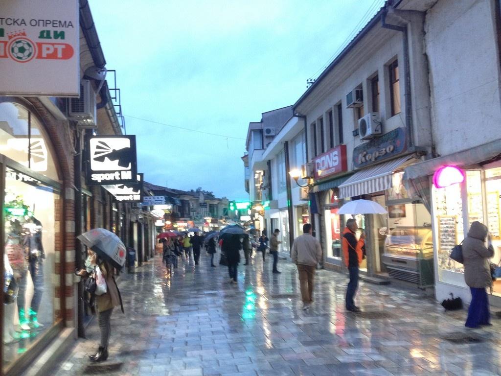 St. Klement Ohrid Caddesi