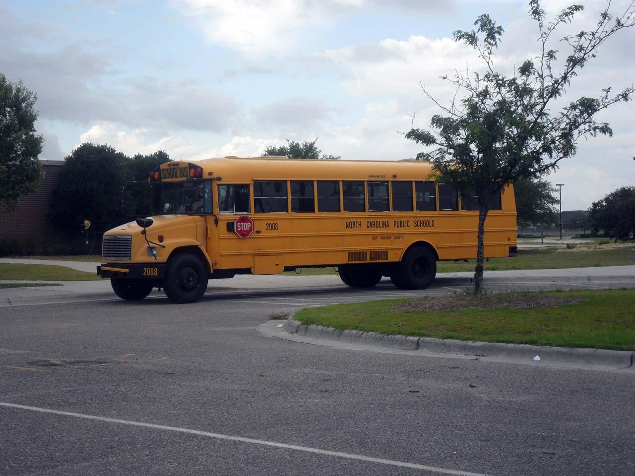 Çoğu Amerikan filminde gördüğümüz okul otobüsü 🙂