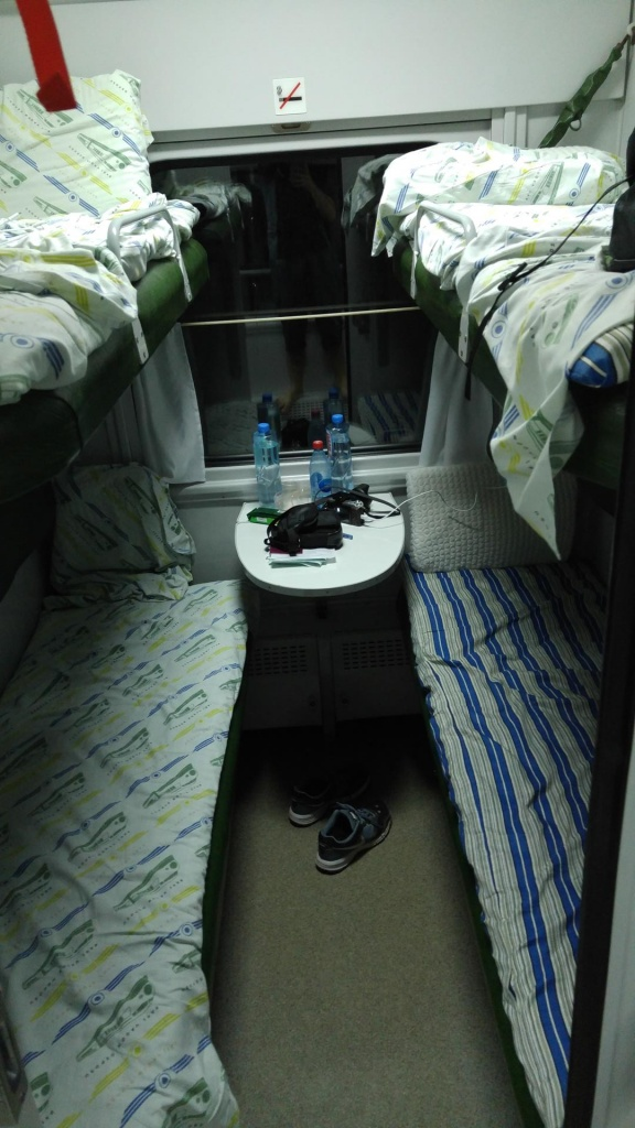 Bakü - Tiflis treni