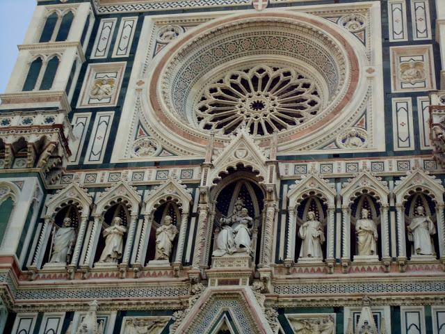 Duomo duvarları yakın plan